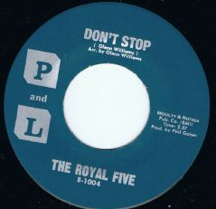 The Royal Five Don't Stop + Nobody Else P & L Mint Original